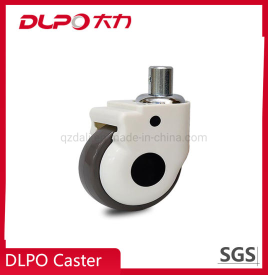 Dlpo 125mm China Manufacture Medical Ventilator Caster Wheel