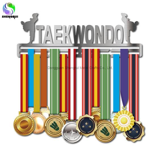 Metal Medal Display Hanger for Running Swimming Gymnastics Motivational Medal Hook Hanger