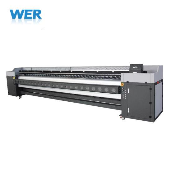 5m 4heads Wer-K5304I Wide Format Solvent Printer