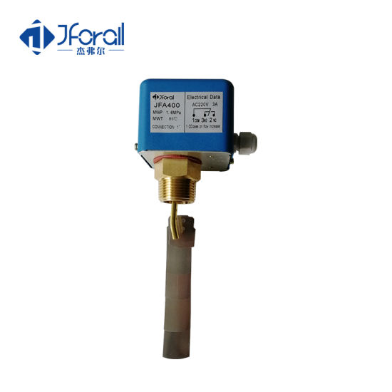 "Thread 3/4, 1"" Inch Measuring Water Paddle Flow Switch Meter"