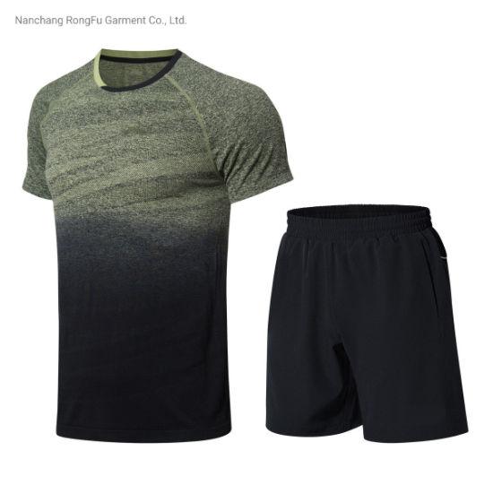 Sports Suit Short Sleeve T Shirt Men's Sports Pants Tracksuit