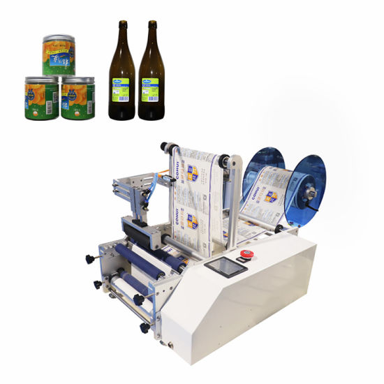 Manual Fast Semi Automatic Adhesive Wine Round Bottle Labeller Packing Labeling Machine (PST-C12)