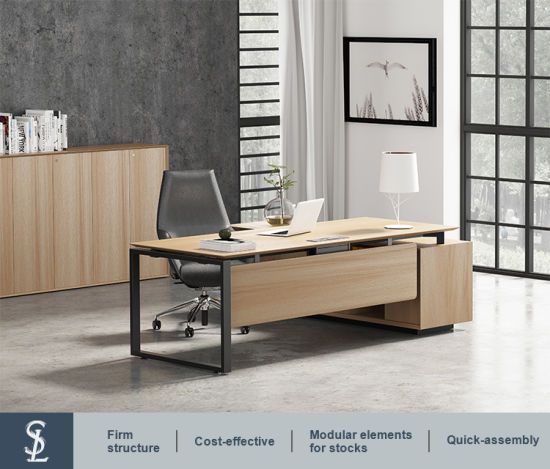 L Shaped Executive Office Furniture