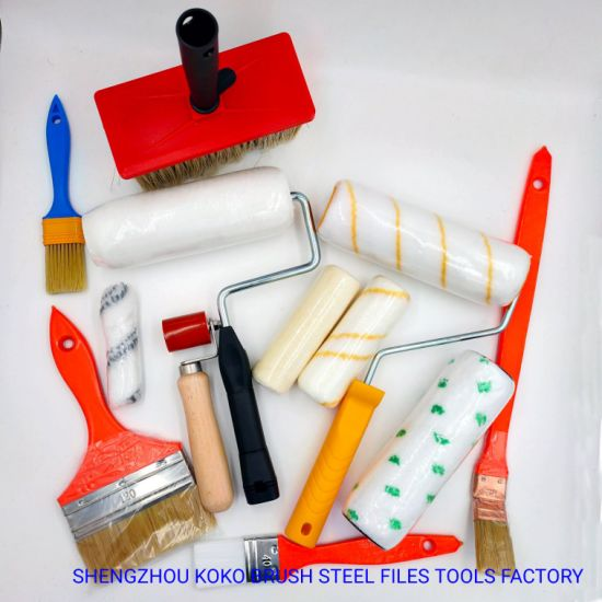 Various Painting Roller Paint Brushes Paint Roller Brushes - China Paint  Brush, Brush | Made-in-China.com