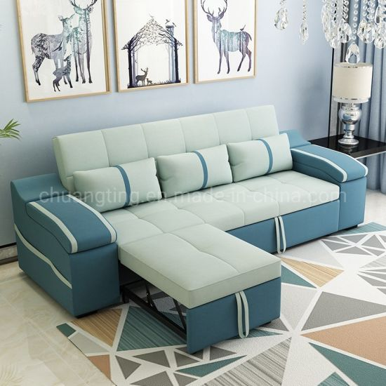 Modern Contemporary Sectional Divan Bed
