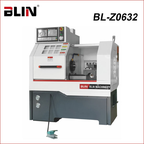 Inclined Mini CNC Lathe Machine Without Tailstock (BL-Z0632)