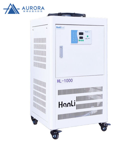 High Quality Hanli Water Cooling Machine Water Chiller Hl-1000 1000W