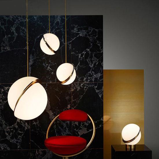 Modern Round Hanging Light Acrylic Ball Pendant Lamp (WH-AP-61)