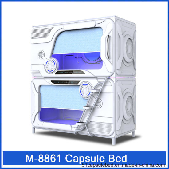 M-8861 Commercial Furniture General Use and Hotel Bedroom Set Specific Use Capsule Hotel Bed