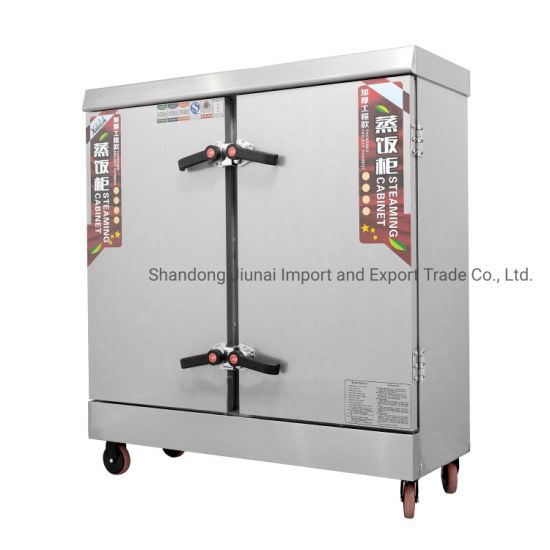 Stainless Steel Commercial Catering Equipment Southeast Asia Restaurant Kitchen Heavy Duty Rice Steamer