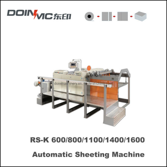 Automatic Paper Sheeting Machine with up Down Cut Knife