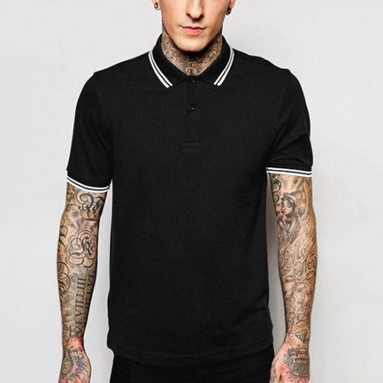 High Quality Wholesale Custom Short Sleeve Men Polo Shirt