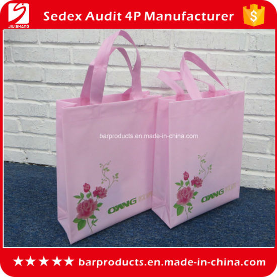 Eco-Friendly Non Woven Fabric Reusable Shopping Cart Bag pictures & photos