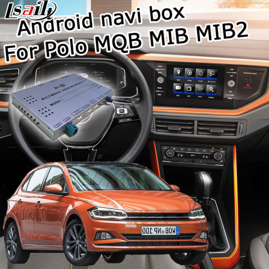 China Lsailt Android GPS Navigation System Box for Volkswagen Polo