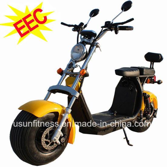 EEC Approved Electric Motorcycle Scooter with 2 Units Remove Batteries for Adult