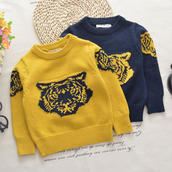 2018fashion Baby Clothes Clothing Children Sweater Pullovers Baby Long Sleeve Thick Sweater T-Shirt