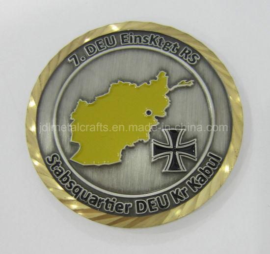 China Wholesale High Quality Custom Metal Challenge Coin