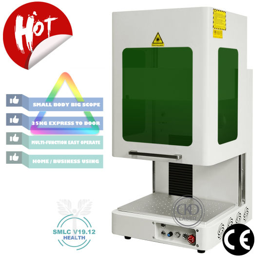 35kg Mini Colorful Laser Marking Machine No Dust Smoke Noise Smell
