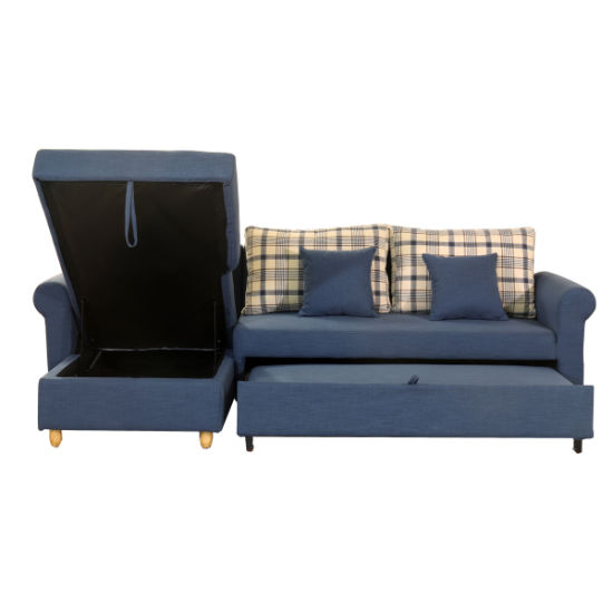 Lesso Home Folding Sofa Bed With Storage Box 3068