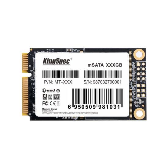 Kingspec Mt-512 Msata SSD 3D MLC Nand Internal Solid State Hard Drive for Industrial PC/POS/Mini PC