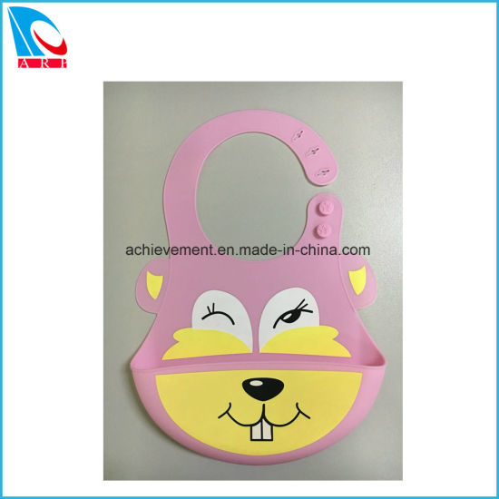 Good Price Silicone Baby Bib Supplier with FDA Standard pictures & photos