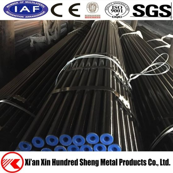 China API 5L X42-X80 Hot Rolled Black ERW Welded OCTG Pipe