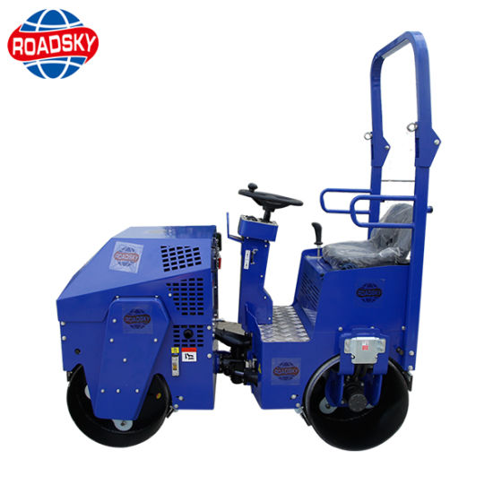 Ride-on Type Compactor Vibratory Asphalt Road Roller for Sale