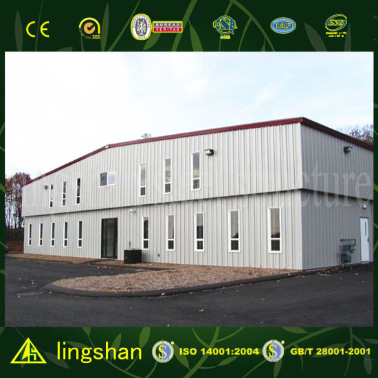 China New Type Steel Frame Workshop Building - China Low Cost, Steel ...
