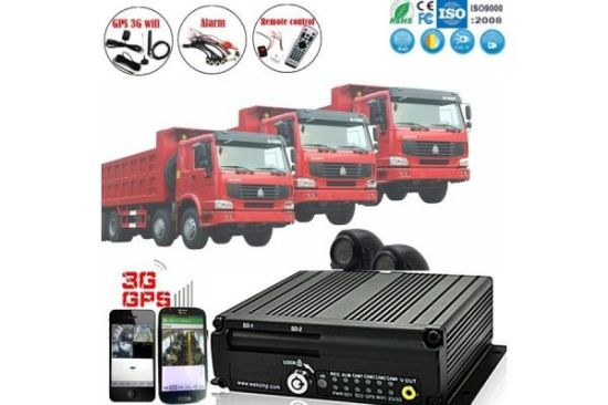 Support Stop Engine Function Bus Truck Vehicle Mobile GPS 4G DVR pictures & photos