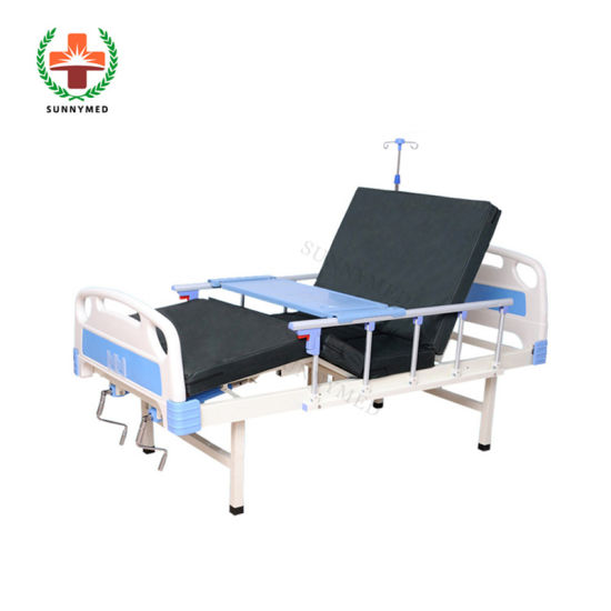Sy-R009 Nursing Care Bed Patient Bed 2 Crank Hospital Bed