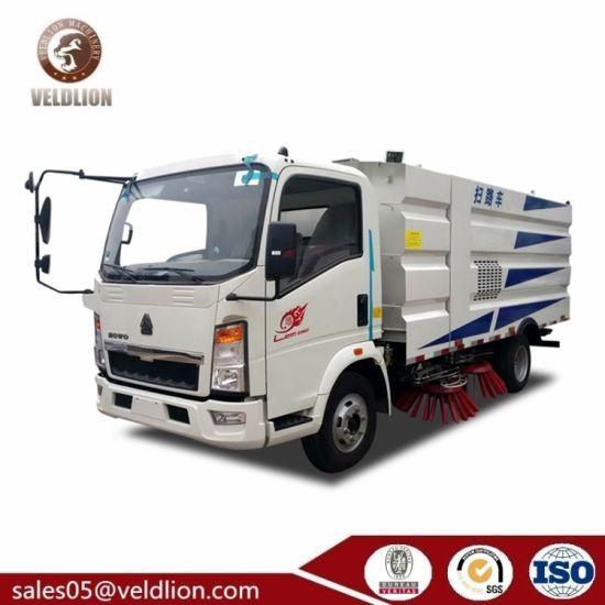 Road Sweeper Truck Dongfeng Runway Sweeper Truck for Garbage Sweeper Vehicle for Sale