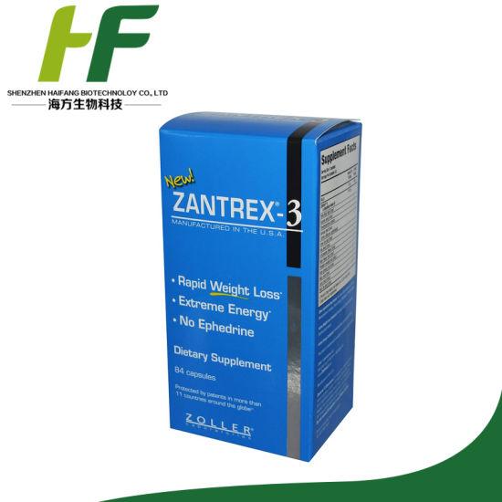 China Zantrex 3 High Energy Fat Burner Supplementary Diet Pills