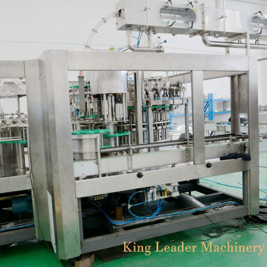 Automatic Soft Water Filling Machinery Gas Drink Filling Machine