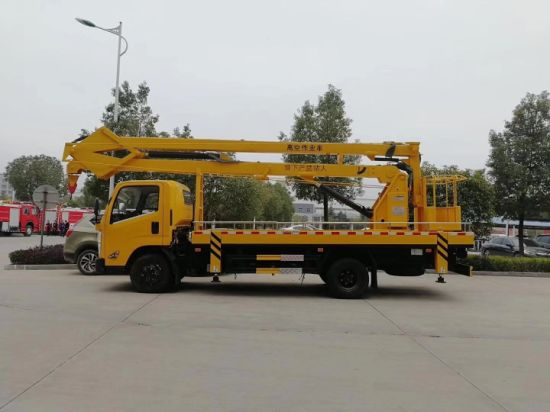 Jmc 4X2 14m 14 Meters Aerial Boom Lifting Truck for Cherry Picker pictures & photos
