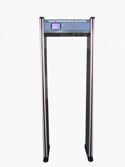 High Sensitivity Metal Detector, Walk Through Metal Detector Door, Door Metal Detectors Js-200 (6zones/LED display/2 LED gatepost) pictures & photos