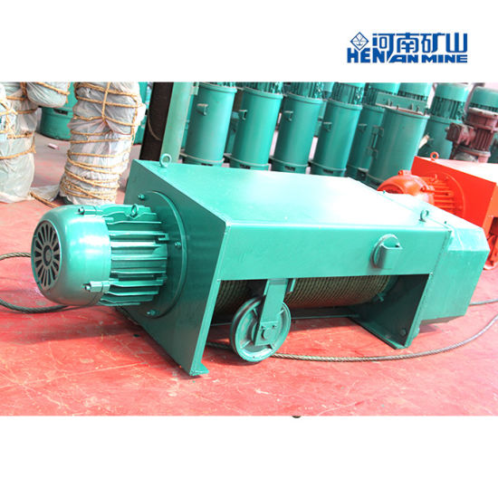 Hc Model Double Speed Wire Rope Pulling Wire Rope Hoist