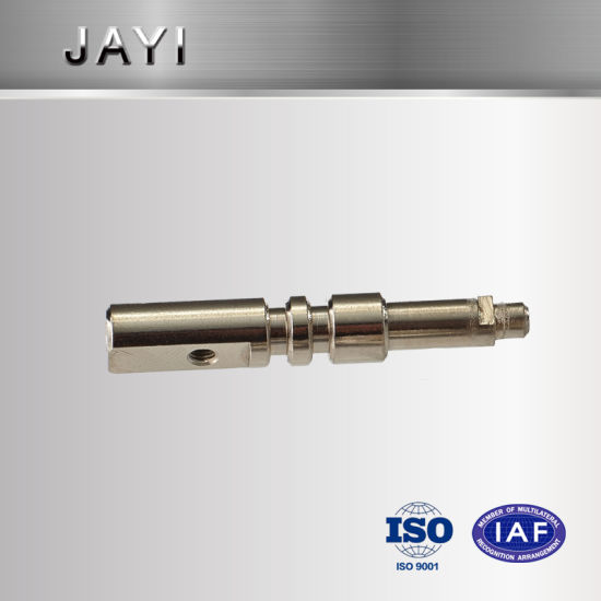 Stainless Steel Shaft, CNC Machining Part, Turn-Mill Combination Rod Shaft