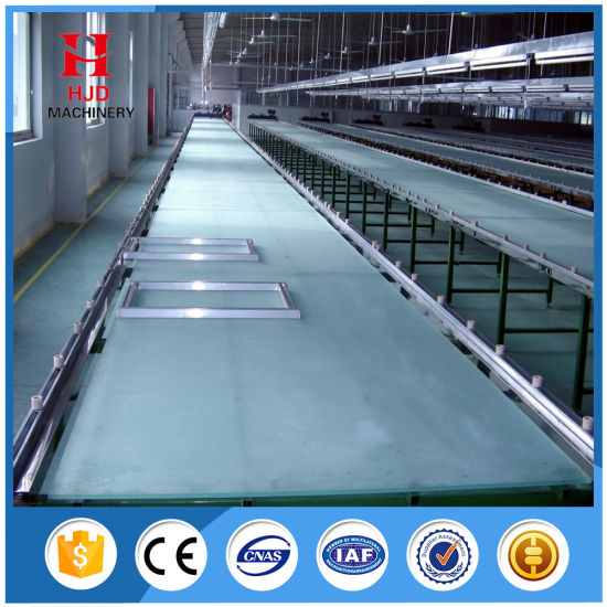 Hjd-B101 Manual Textile Sloping Screen Printing Table pictures & photos