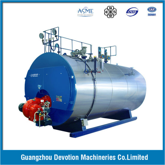 China ASME 2 Ton/Hr Gas, Oil, Dual Fuel Steam Boiler with European ...