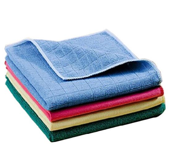 Ultra Soft Antibacterial Microfiber Cleaning Cloth for Kitchen Hospital