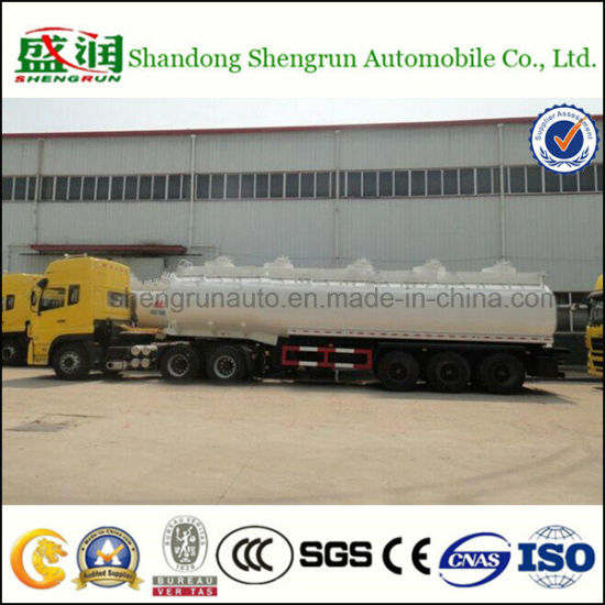 3 Axles China Made 40, 000L Oil Fuel Tanker Trailer