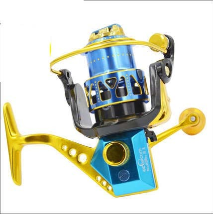 Metal Body Brass Gear Right and Left Hand Changeable Big Power Fishing Reel pictures & photos