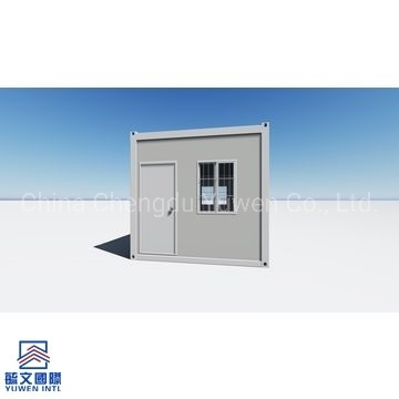 Sandwich Panels Detachable Prefabricated Flat Pack Container House