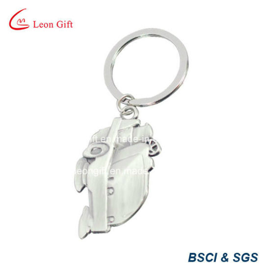 Promotion Custom Silver Car Shape Key Chain pictures & photos