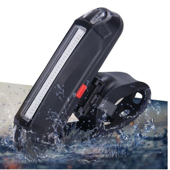 LED USB Rechargeable Flash Bicycle Bike Tail Lamp
