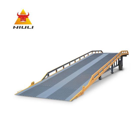 Niuli 8t Movable Hydraulic Dock Ramp