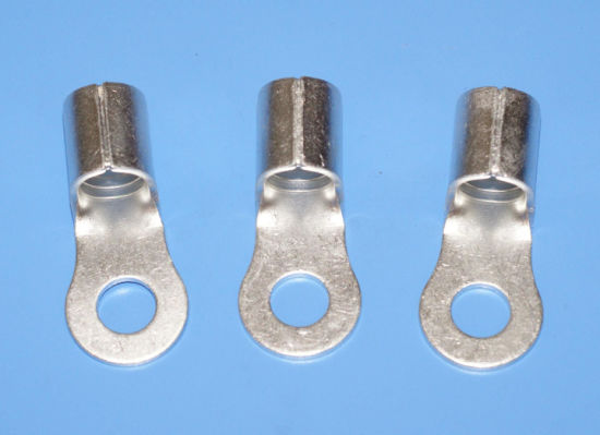 Stong Circular Naked Terminals Non-Insulated Ring Copper Terminals pictures & photos