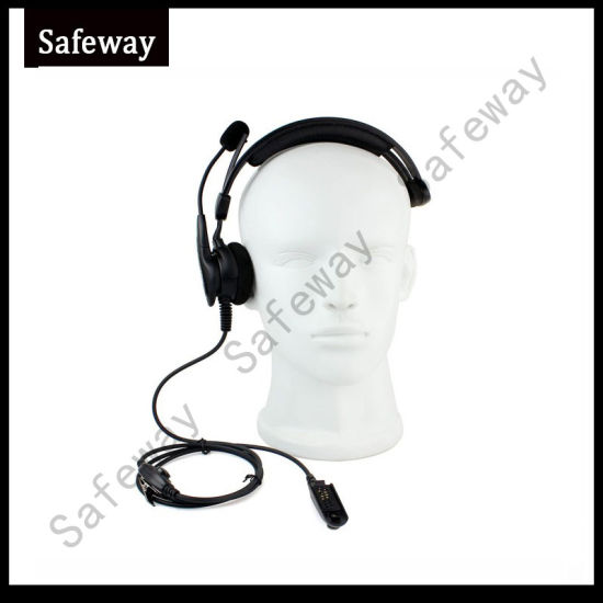 Two Way Radio Headset with Adjustable Mic for Motorola PRO5150 pictures & photos