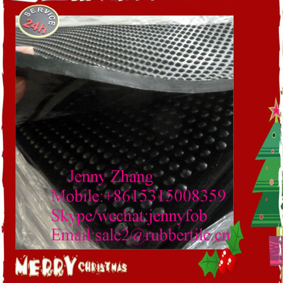 Heavy Duty Durable Rubber Stall Mat Cow Barn Horse Stable Rubber Mat pictures & photos