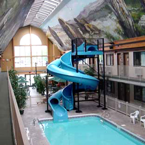 China Indoor Fiberglass Swimming Pool Slide Zc Ws Lq3